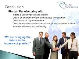 Riordan Manufacturing in the Virtual Organizations