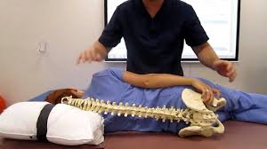 Spinal manipulation (HVLA) to L1-2 Vertebrae
