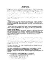 Steps for evaluating an argument