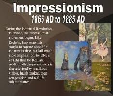 Advertisement Influenced by Impressionism Movement
