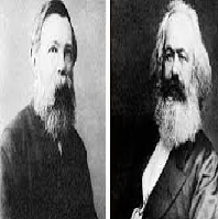 Compare Marx and Darwin Notion of Struggle