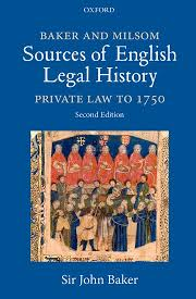 English Legal History and Modern Laws
