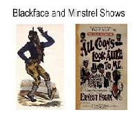Humanity Blackface Minstrel Show