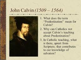 John Calvins Doctrine in Eucharist