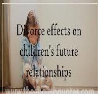Psychological Effects of Divorce on Children