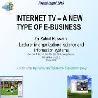TV vs Online Advertising in Business Information System