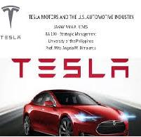 The Concept Of Strategic Audit Of Tesla Motors Inc My Best Writer