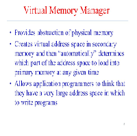 The Virtual Memory Manager VMM