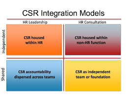 The role of the HR leader in CSR