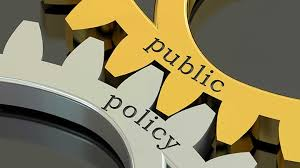 The different areas of public policy in Australia