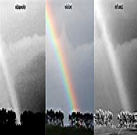 Compare IR and UV Traversing Air