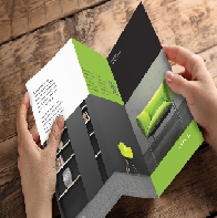 Create A Brochure using Adobe program In Design
