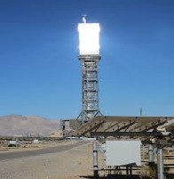 The Ivanpah Concentrated Solar Power