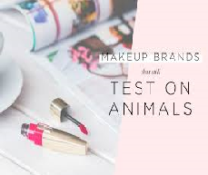 Alternative Products and Animal Tested Products