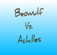 Compare Achilles Apollonius and Beowulf