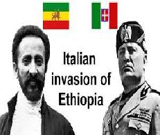 History of Italian Invasion of Ethiopia 1935