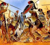 TPeloponnesian War between Sparta and Athen