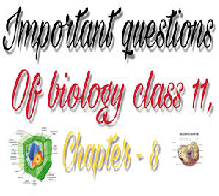 Biology course Overview Questions