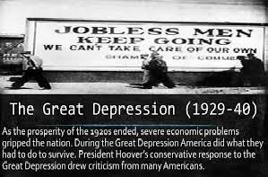 Problems of the Great Depression