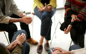Group therapy helping eating disorders
