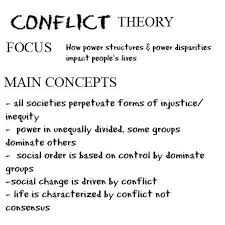 Conflict theory for Social Media Papers