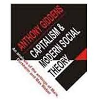 Modern Western Capitalism and Sociological Theory