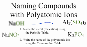 Polyatomic Ions and Molecular Compounds