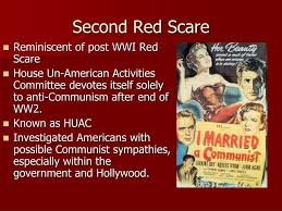 Red Scare and Conformity Potential Rise of Communism