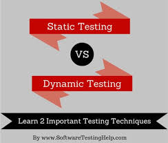 Static and Dynamic Testing Techniques