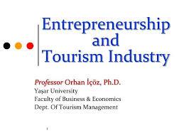 Entrepreneurship in Hospitality Tourism
