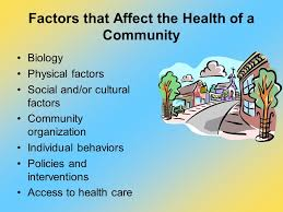 Factors That Affect the Health of the Community