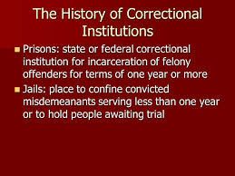 History of correctional institutions
