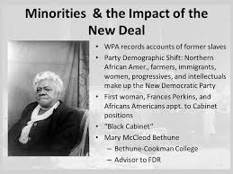The New Deal and Minorities