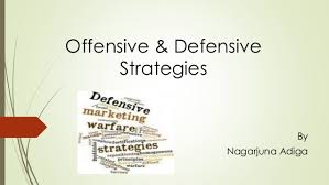 Defensive and offensive strategies assignment