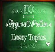 Contemporary Issue Position Essay