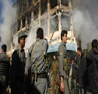 Defeat of Taliban in Afghanistan in December 2001
