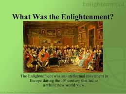 The Enlightenment world view