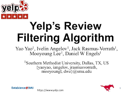 Individual Review in the Yelp Fragments
