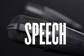 Critique a speech