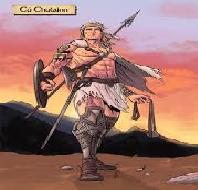 Warrior is Cuchulainn
