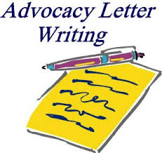 Advocacy Letters