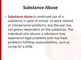 Abnormal Psychology-Substance Use Disorder