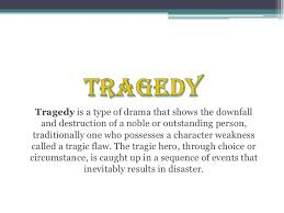 Element of Tragedy