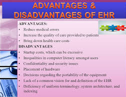 Advantages and Disadvantages of Electronic Health Records