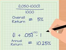 Calculate Annual Return and Annualized Rate Of Return