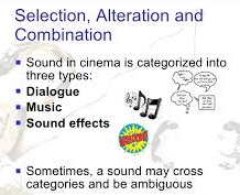 Categories of Sound in Films Essay Paper