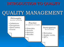 Definitions of History of Quality Management