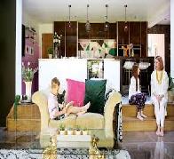 Experienced interior designers Jason and Amelia