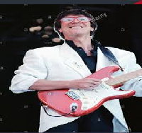 Hank Marvin and Patty Smith in Amsterdam Netherlands