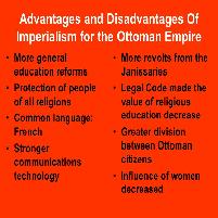 Imperialism Advantages and Disadvantages